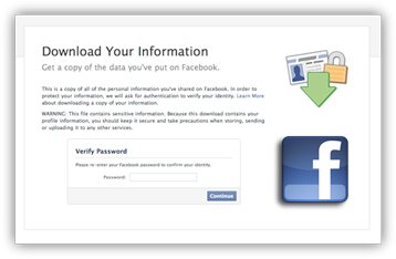 How To Backup Your Entire Facebook Profile