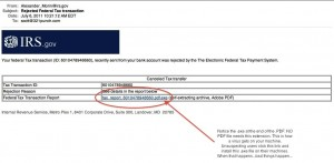 Fake IRS wants you to install malware